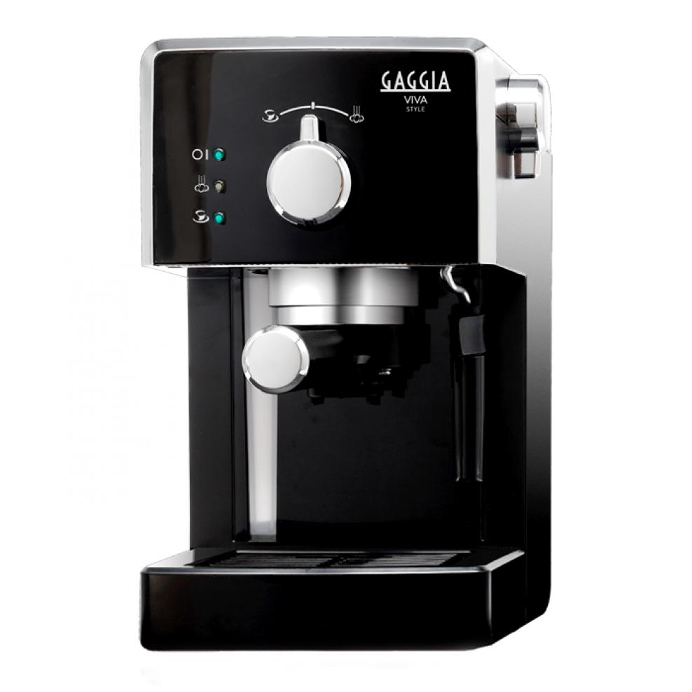 Купить Рожковые кофеварки, Кофеварка Gaggia Viva Style Focus Black (RI8433/11), Чорний, Китай