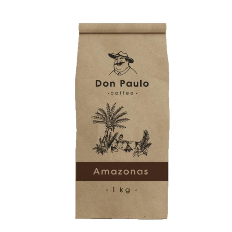Купить со скидкой Кофе в зернах Don Paulo Amazonas 1 кг