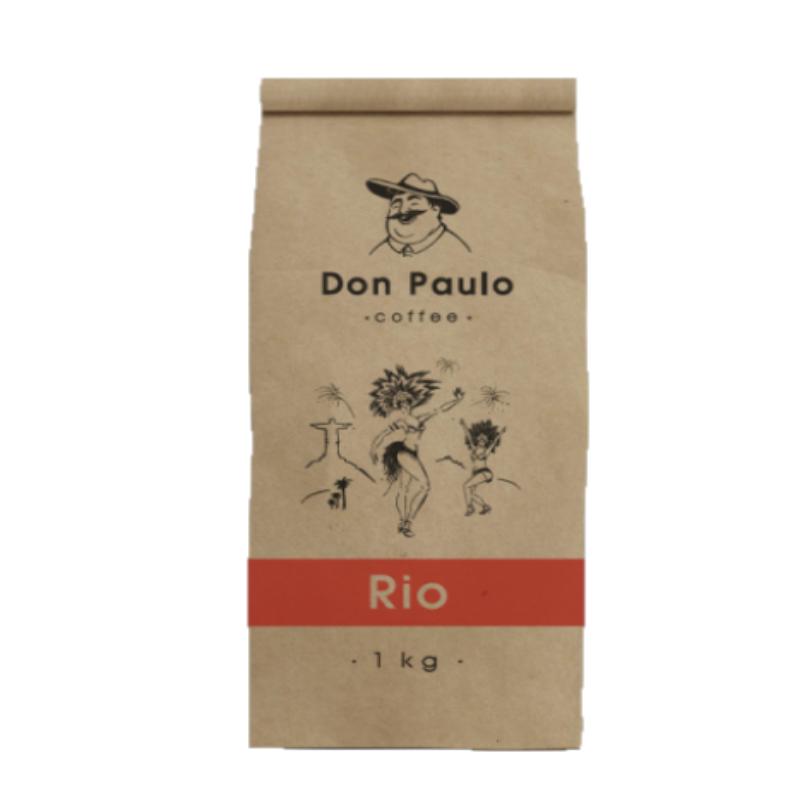 Купить со скидкой Кофе в зернах Don Paulo Rio 1 кг