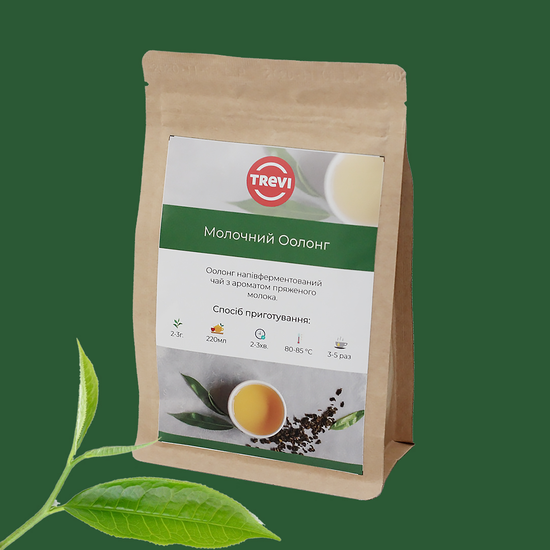 Чай рассыпной Trevi Молочный Оолонг 1 кг
