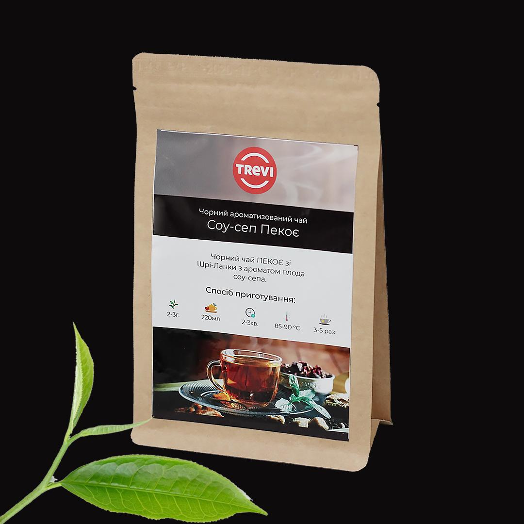 Чай черный рассыпной Trevi Соусеп (РЕКОЕ) 50 г