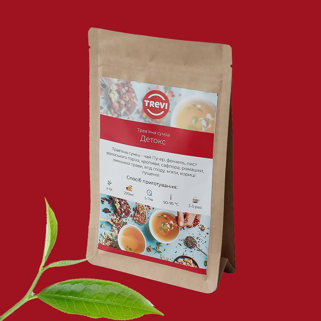 Чай Травяной рассыпной Trevi Детокс (очищающий) 100 г