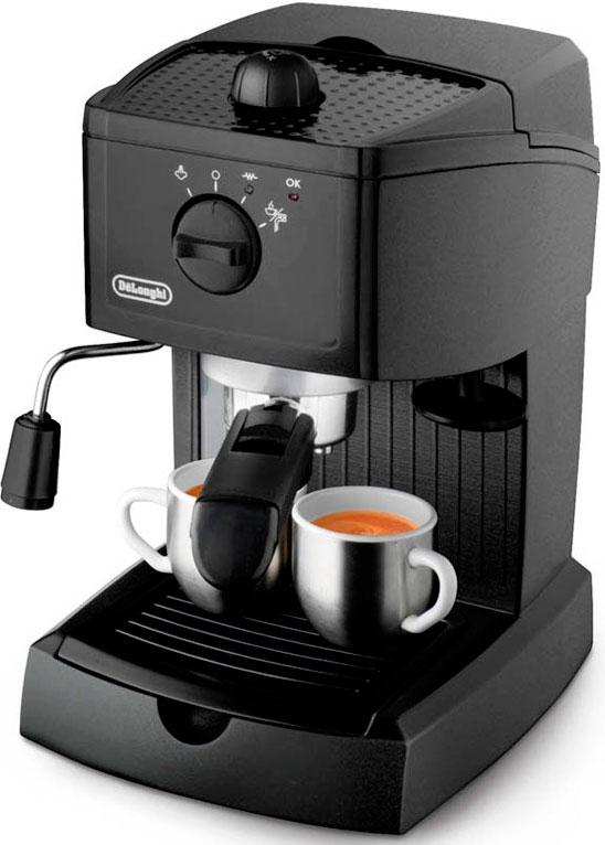 Купить Рожковые кофеварки, Кофеварка DeLonghi EC 146.B, Чорний, Китай
