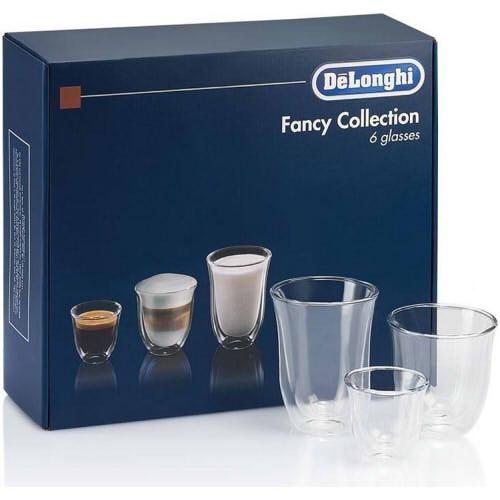 Купить со скидкой Набор стаканов Delonghi DLSC302 MIX (60/190/220) (6 шт)