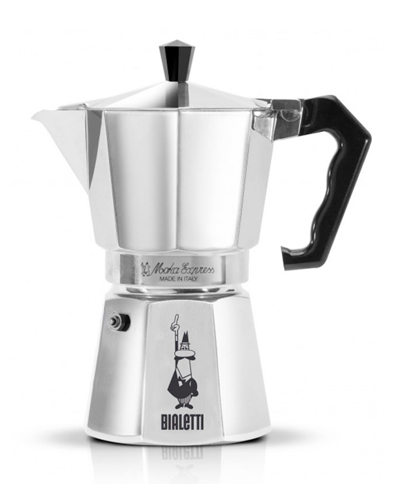 Купить со скидкой Гейзерная кофеварка Bialetti Moka Express 240 мл (0001164)