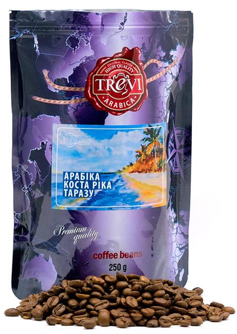 Кофе в зёрнах Trevi Арабика Коста Рика Тарразу 250 г