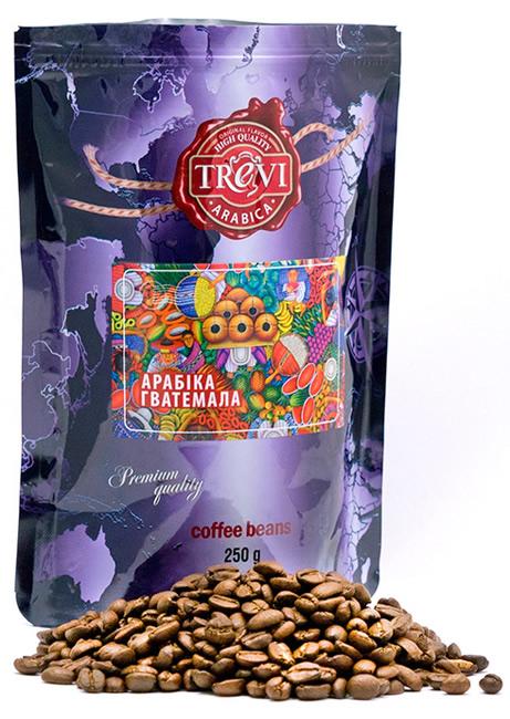 Кофе в зёрнах Trevi Арабика Гватемала 250 г
