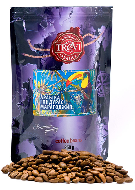 Кофе в зёрнах Trevi Арабика Гондурас Марагоджип 250 г