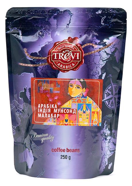 Купить со скидкой Кофе в зёрнах Trevi Арабика Индия Мунсонд Малабар 250 г