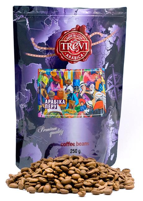 Кофе в зёрнах Trevi Арабика Перу 250 г