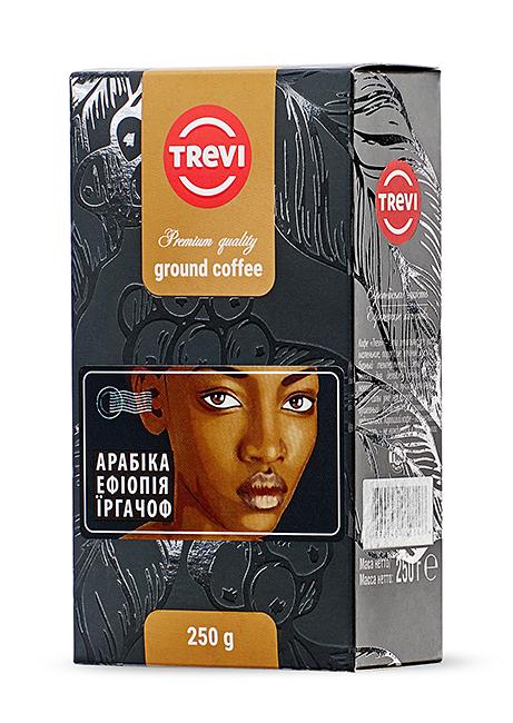 Кофе молотый Trevi Арабика Эфиопия Иргачиф  250г