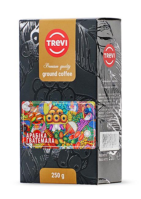 Купить со скидкой Кофе молотый Trevi Арабика Гватемала 250г