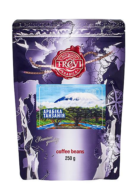 Купить со скидкой Кофе в зёрнах Trevi Арабика Танзания 250 г
