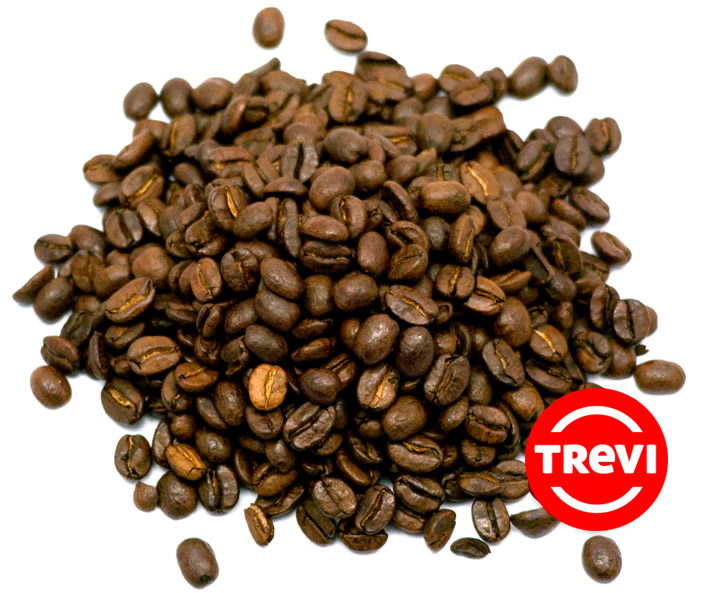 Кофе в зёрнах Trevi Арабика Колумбия без кофеина 500 г