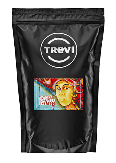 Купить со скидкой Кофе в зёрнах Trevi Арабика Колумбия Эксельсо 500 г