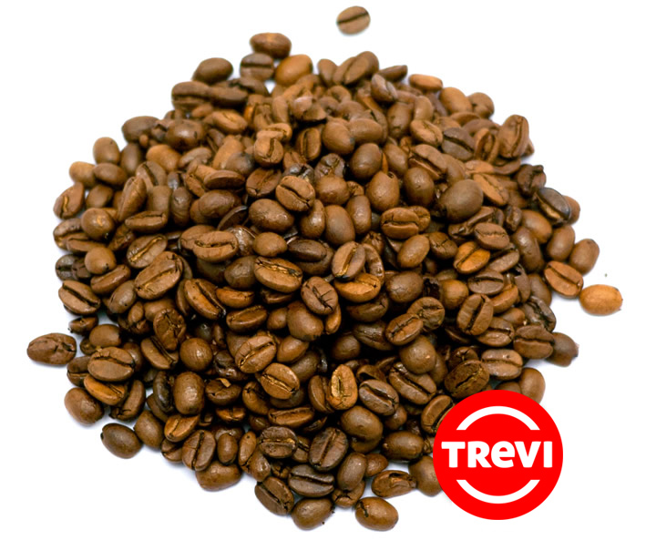 Кофе в зёрнах Trevi Арабика Индия Монсунд Малабар 1 кг