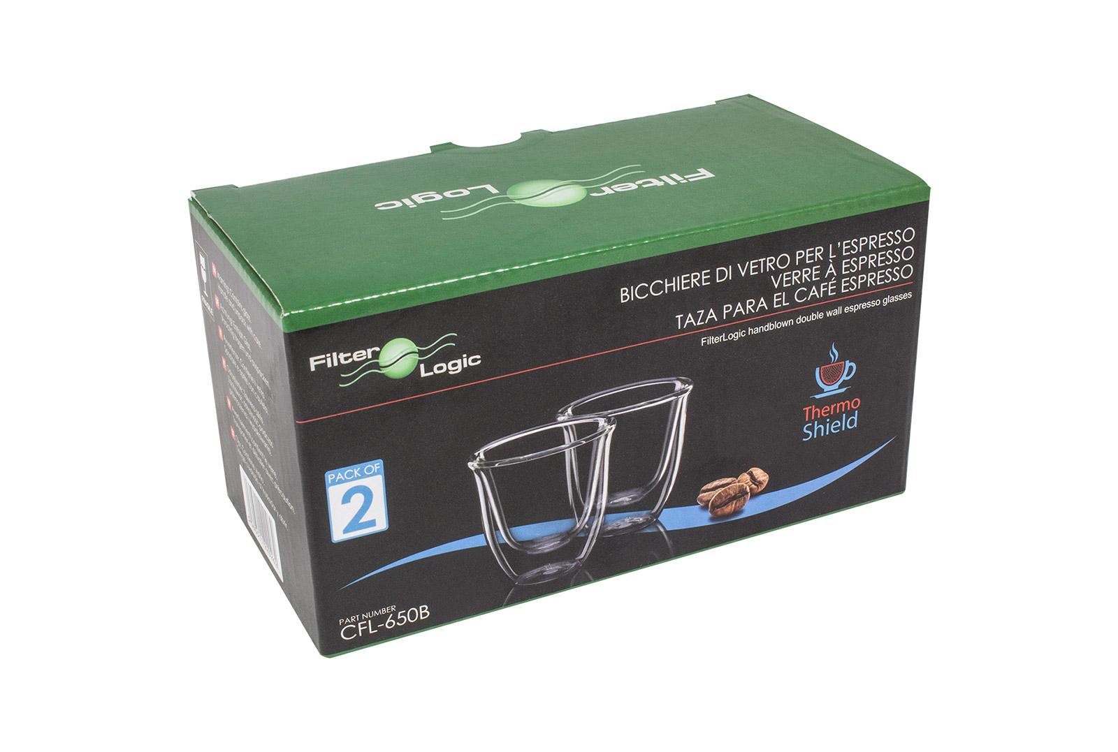 Цена Набор стаканов FilterLogic CFL-670 Cappuccino (2 шт) 300 ML