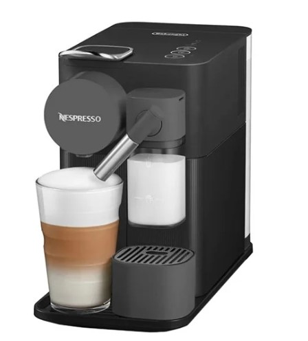 Купить Капсульные кофемашины, Капсульная кофеварка Nespresso Lattissima One Black EN 500.BM, Чорний