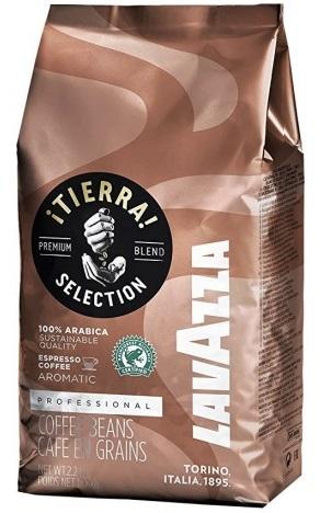 Купить со скидкой Кофе в зёрнах Lavazza Tierra Selection 1 кг