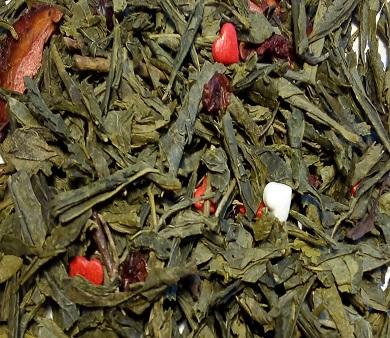 Чай Зеленый рассыпной Trevi Клубничный твист 50 г
