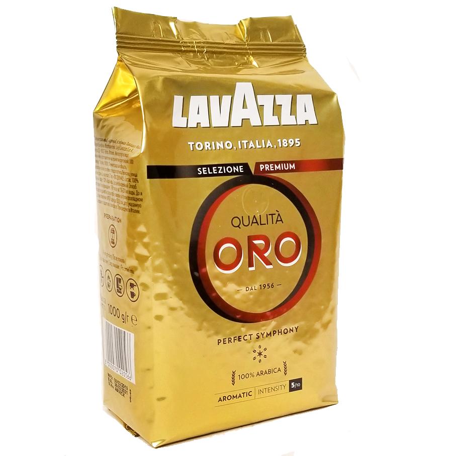 Купить со скидкой Кофе в зёрнах Lavazza Qualita Oro 1 кг