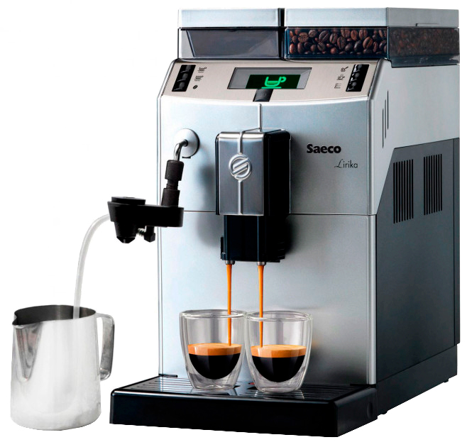 Купить со скидкой Кофемашина Saeco Lirika Plus Cappuccino