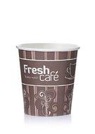 Бумажный стаканчик для горячих напитков Fresh Cafe 150 мл (100шт)