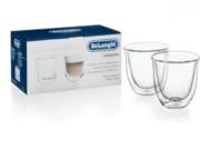 Набор стаканов DeLonghi Cappuccino (2 шт) 190 мл
