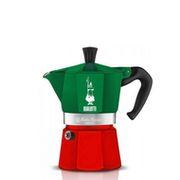 Гейзерная кофеварка Bialetti Moka Express Italia 180 мл(0005322)