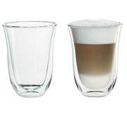 Набор стаканов Delonghi LATTE MACCHIATO (2 шт) 220 ML