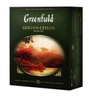 Чай черный пакетированный Greenfield Golden Ceylon (100 х 2 г)