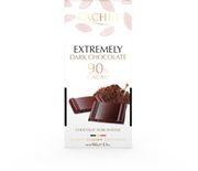 Шоколад черный Cachet Extremely 90% какао 100 г
