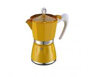 Кофеварка гейзерная GAT BELLA 6 чашек Желтая