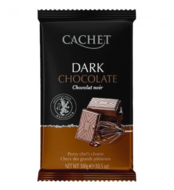 Шоколад черный Cachet 54% какао 300 г