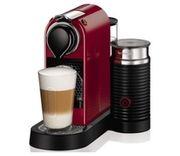 Капсульная кофеварка Nespresso CitiZ and Milk Red