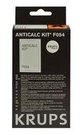 Набор для удаления накипи для кофемашин Krups F054001A (2 пакетика по 40г + 1 тест на жесткость воды)