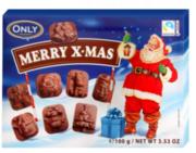Шоколадные конфеты Merry Christmas Only (100 г)