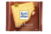 Шоколад молочный Ritter Sport с печеньем