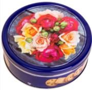 Печенье Patisserie Matheo сливочное Роза ж/б 454 г