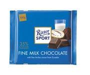 Шоколад  молочный Ritter Sport Fine Milk 100 г