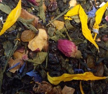 Стоимость Чай зеленый с черным рассыпной Trevi 1001 ночь 100 г