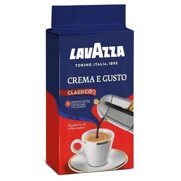 Цена Кофе молотый Lavazza Crema e gusto Classico  250 г