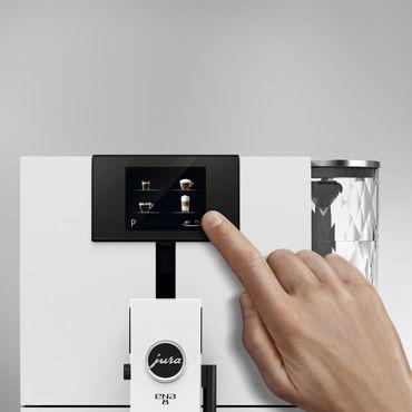 Стоимость Кофемашина Jura ENA 8 Touch Full Nordic White