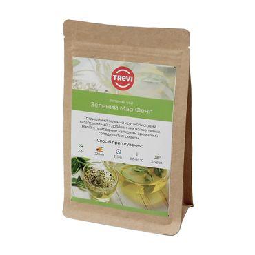 Чай зеленый рассыпной Trevi  Зеленый Мао Фенг 1 кг