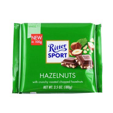 Шоколад молочный  Ritter Sport с лесными орехами 100 г