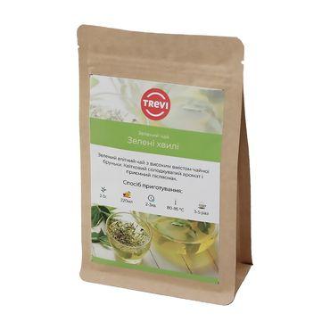 Чай Зеленый рассыпной Trevi Зеленые волны 100 г