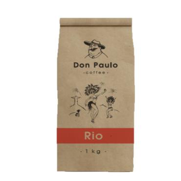 Кофе в зернах Don Paulo Rio 1 кг
