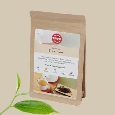 Цена Чай белый рассыпной Trevi Би Ло Чунь 100 г