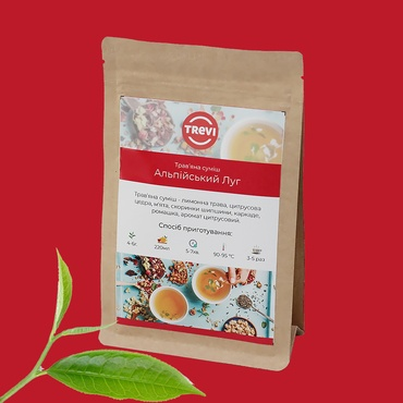 Цена Чай Травяной рассыпной Trevi Альпийский луг 1 кг