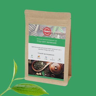 Цена Чай Зеленый  рассыпной Trevi Клеопатра зеленая 1 кг